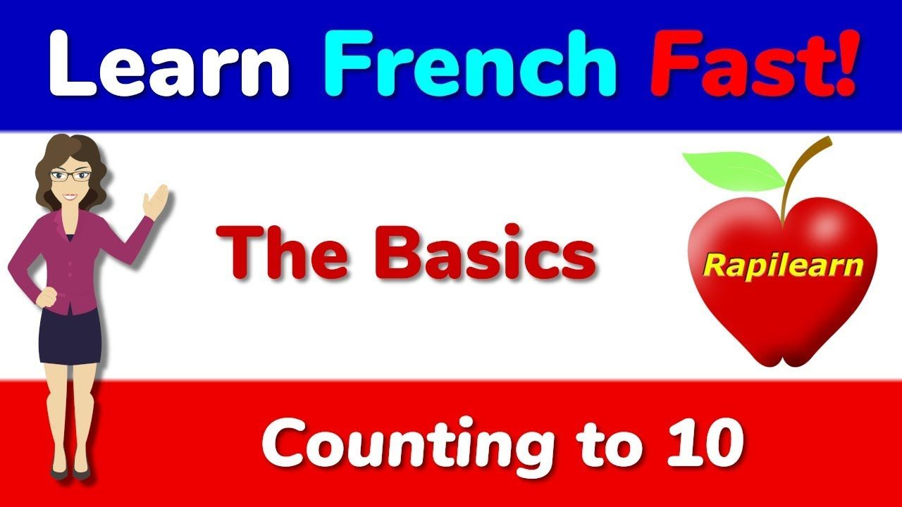 Learn how to count from 0 to 10 in French