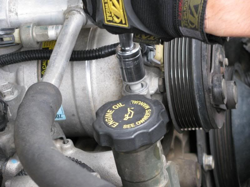 Auto air conditioning compressor replacement car air