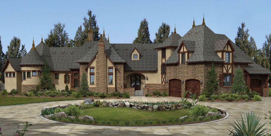 Http Www Euroworlddesign Com Wp Content Uploads 2015 08 Lieu Benney 3d Front Jpg Rustic Houses Exterior Home Design Plans House Design