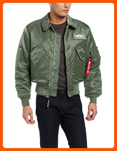 2b2b0ae11f2 Alpha Industries Men s CWU 45 P Flight Jacket
