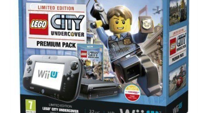 Nintendo Wii U 32gb Lego City Undercover Nintendo Wii U Console Wii U Wii