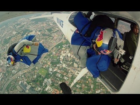 Wingsuit Flying In Malaysia Red Bull Air Force Team 2012 Wingsuit Flying Air Force Skydiving Videos