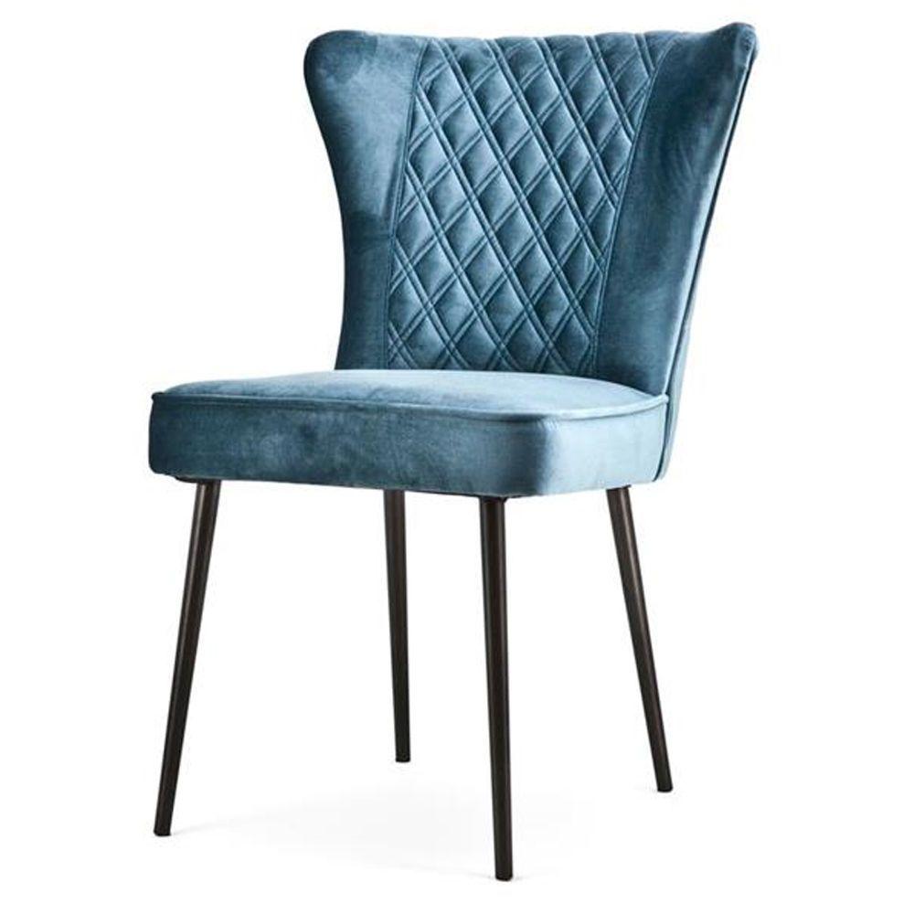 Details zu RETRO STOFF STUHL JOHNNY III 60th Design 3 Farben Sessel ...