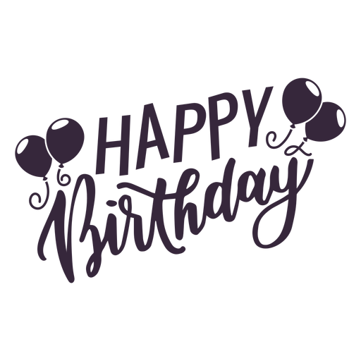 Happy Birthday Balloons Lettering Ad Affiliate Sponsored Birthday Balloons Lettering Happy Happy Birthday Text Lettering Happy Birthday Font