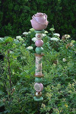 Image Result For Rosenkugel Keramik Keramik Blumen Mosaik Gartenkunst Metall Gartenkunst