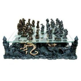 Dragon Chess Set Dragon Chess Themed Chess Sets Chess Board