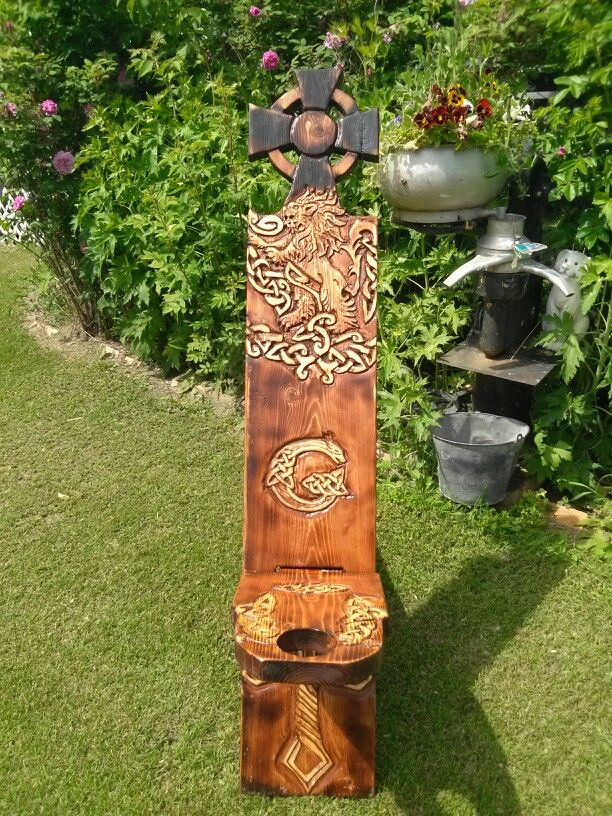 SCA CARVED CHAIR