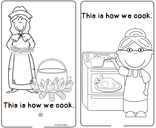 Living In The Past And Present Reader Then And Now Kindergarten Social Studies Teaching Social Studies Thanksgiving Kindergarten