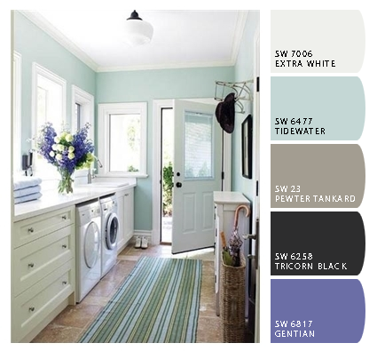my contractor used a bad word paint colors laundry room colors laundry in bathroom mudroom. Black Bedroom Furniture Sets. Home Design Ideas