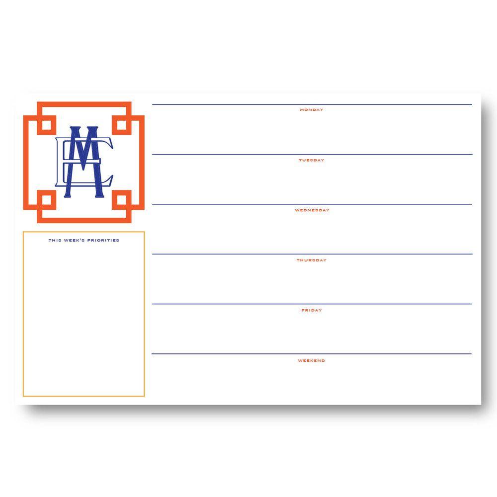 Personalized Desk Pad - Greek V1 | Desk Pads | Desk pad
