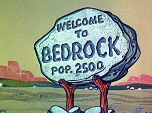 Image result for fred flintstone bedrock