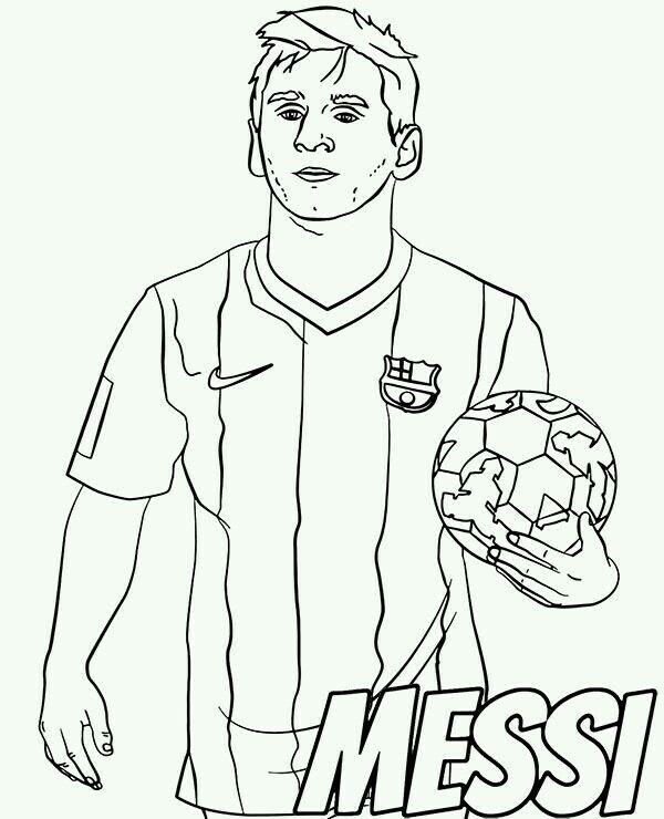Pin De Breyla Isamara En Lionel Messi Deportes Dibujos Dibujos De Futbol Deportes Para Colorear