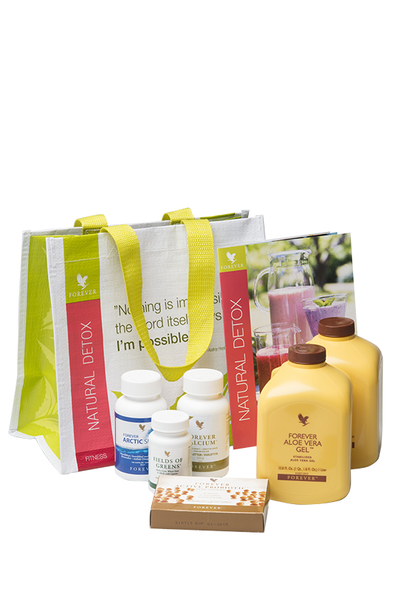 I started my journey by ordering the Detox kit in March 2014