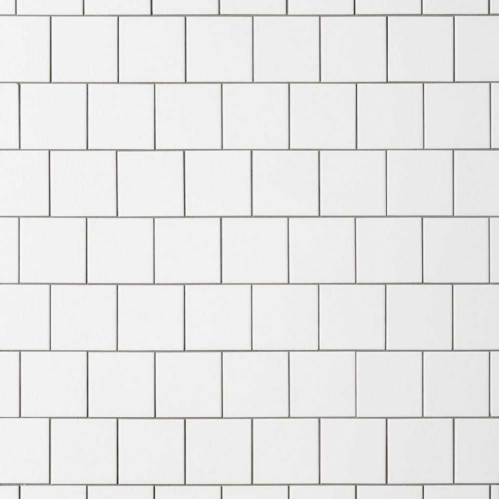 Ice White Matte 4x4 Ceramic Wall Tile | Ceramic wall tiles ...