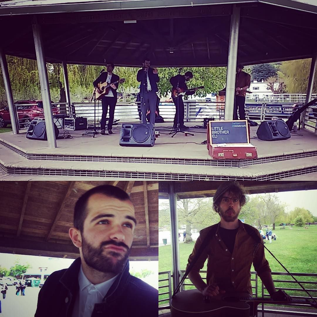 Great little acoustic gig at Henley Festival today #LiveMusic #Henley #Festival #Acoustic