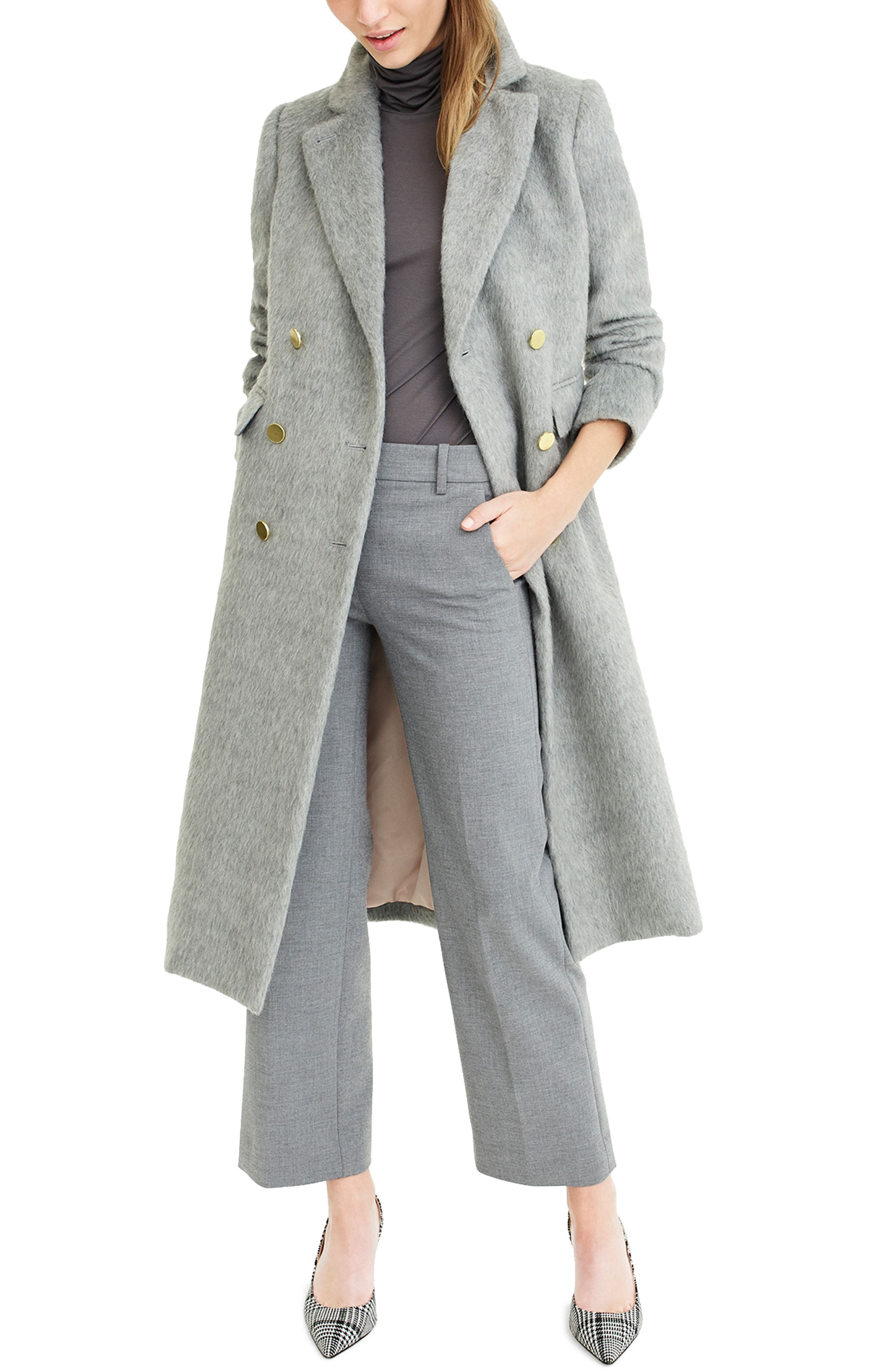 9238aa0f J.Crew Collection Long Brushed Wool Topcoat. | Fall/Winter Wishlist ...