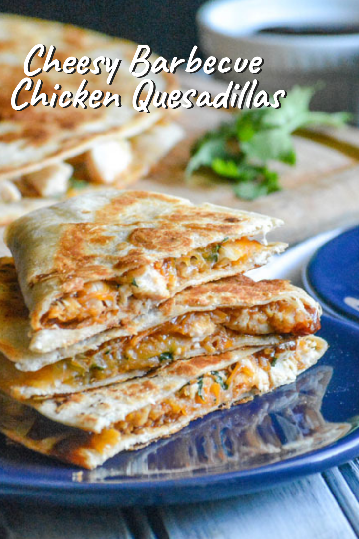 Cheesy Barbecue Chicken Quesadillas Recipe Appetizer Recipes
