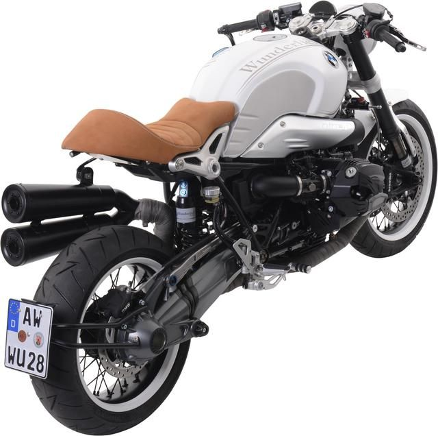 Motorrad Bild: Wunderlich Cafe Racer