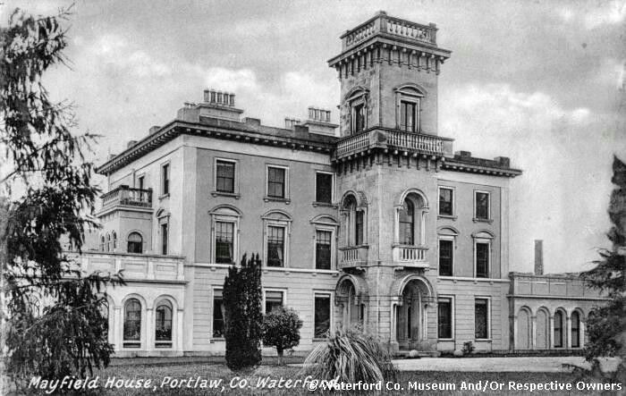 Mayfield House Co Waterford Old Photograph Irish Historic