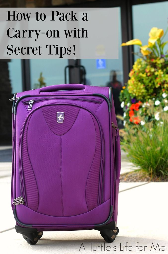 Travel Tips to Stay Organized and fit it all in a Carry-on!! So many great tips like how to keep your jewelry from not getting tangled to why you should always pack a water bottle and pillowcase! Saving this for the next time I travel! #AtlanticLuggage #ad