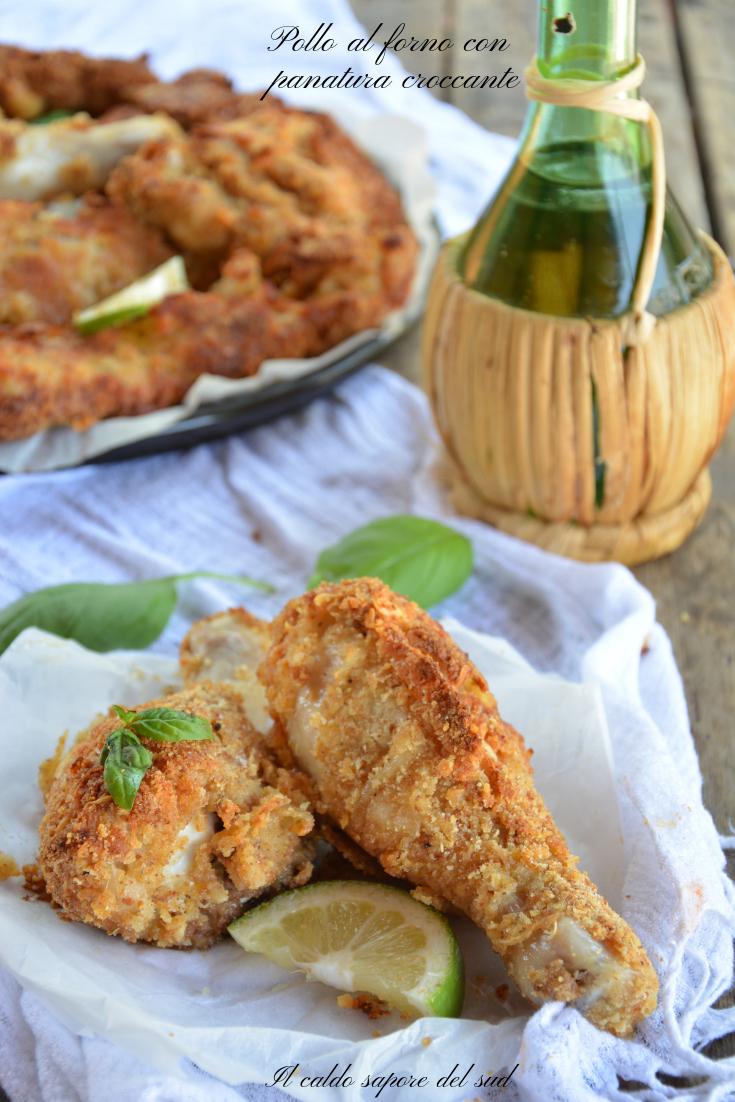 Photo of Pollo al forno speziato con panatura croccante – Blog di Il …