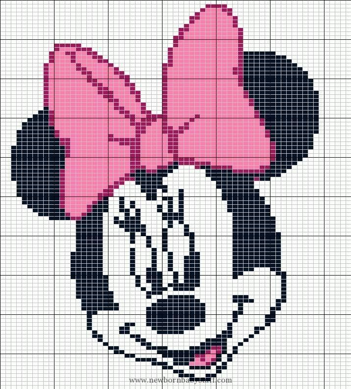 Child Knitting Patterns Inventory Photograph Of Minnie Mouse
