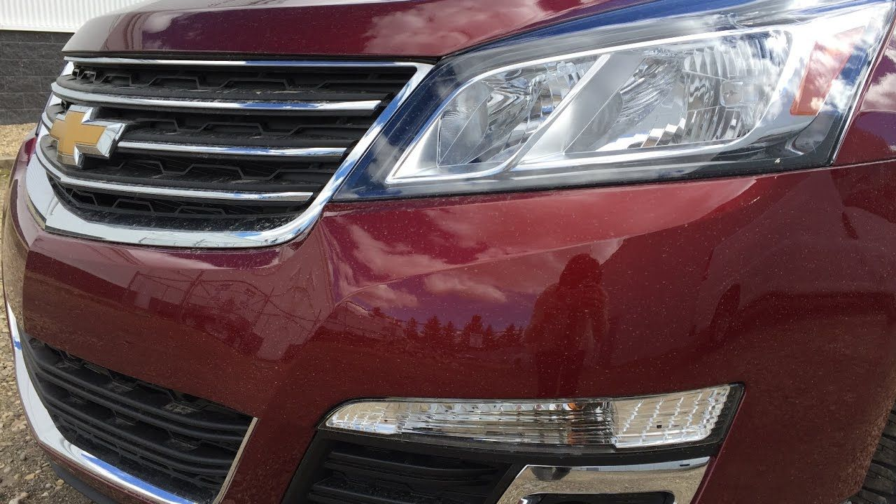 2017 Chevrolet Traverse LT FOR SALE / AWD, Red / 17n132