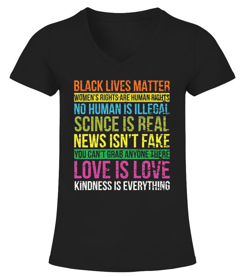 Black Lives Love Is Love TShirt Resistance shirt, T