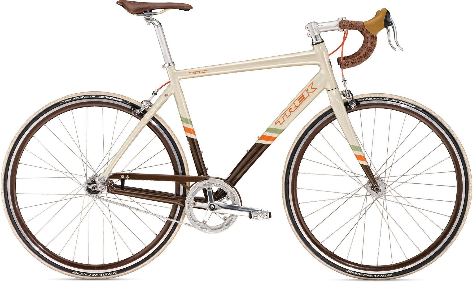 Carbon Road Bikes Trek Bikes >> Trek District Single Speed Carbon Fork New Bicycle Designs