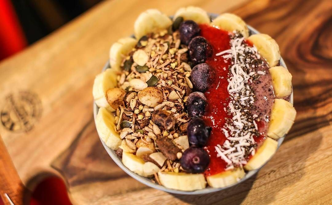 Beat the heat in the healthiest way possible with one of our delicious Acái smoothie bowls! @amazoniaco #thebircherbar #bircherbar #lismore #cafe #pantry #deli #muesli #acai #smoothie #smoothiebowl #amazonia #organic #glutenfree #paleo http://ift.tt/1cD4c3y  Photo by @eastcoastkonnection.byronbay