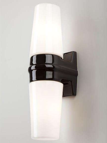 Bernadotte double wall light black bernadotte double bathroom light holloways of ludlow