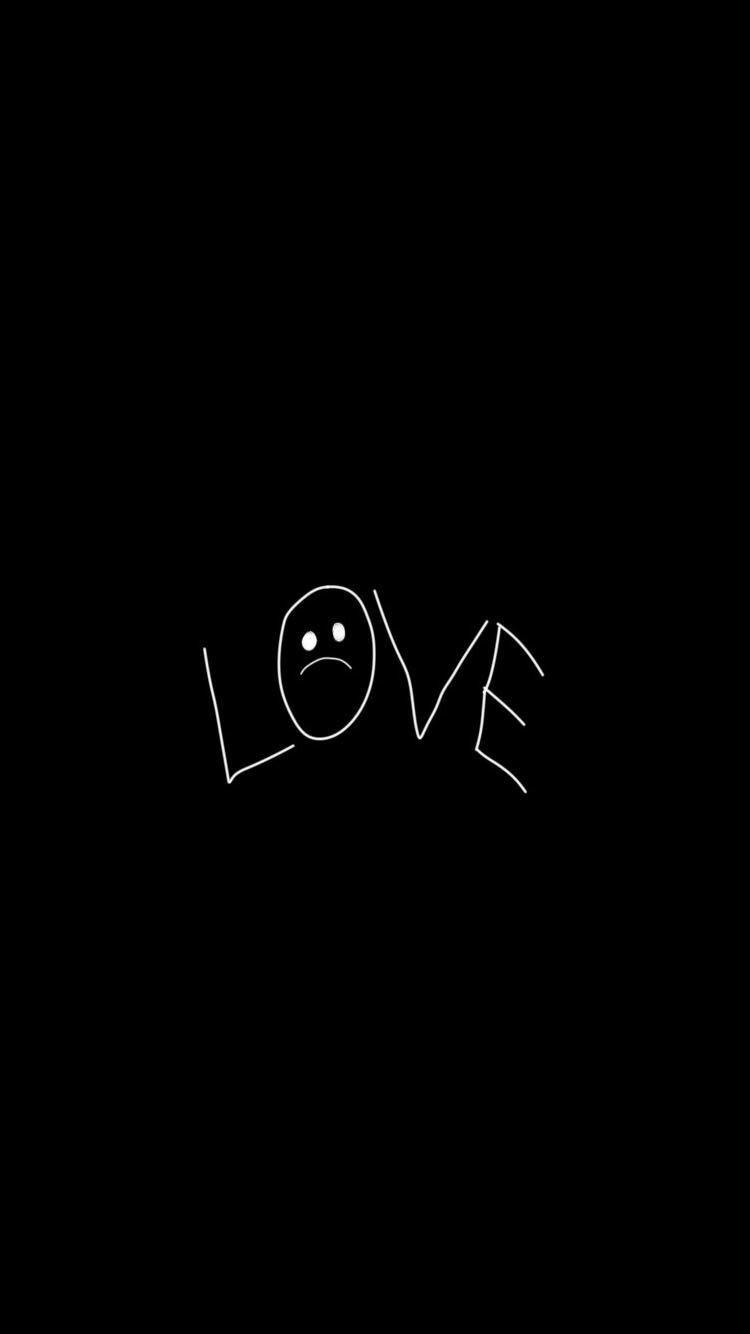Lil Peep Love Lilpeep Riplilpeep Wallpaper Blackandwhite Love