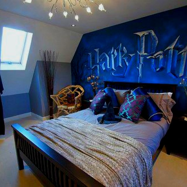 A Harry potter room.