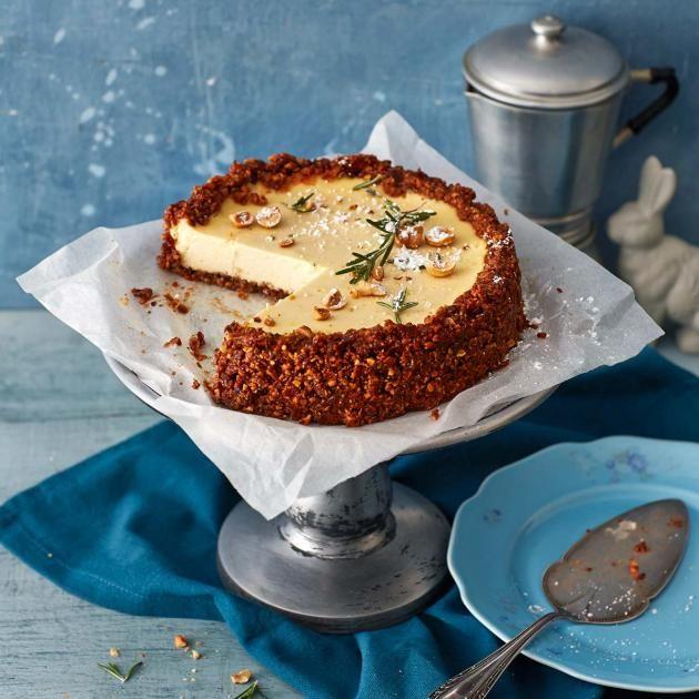 Haselnuss-Käse-Tarte | Rezept | Rezepte, Kuchen ...