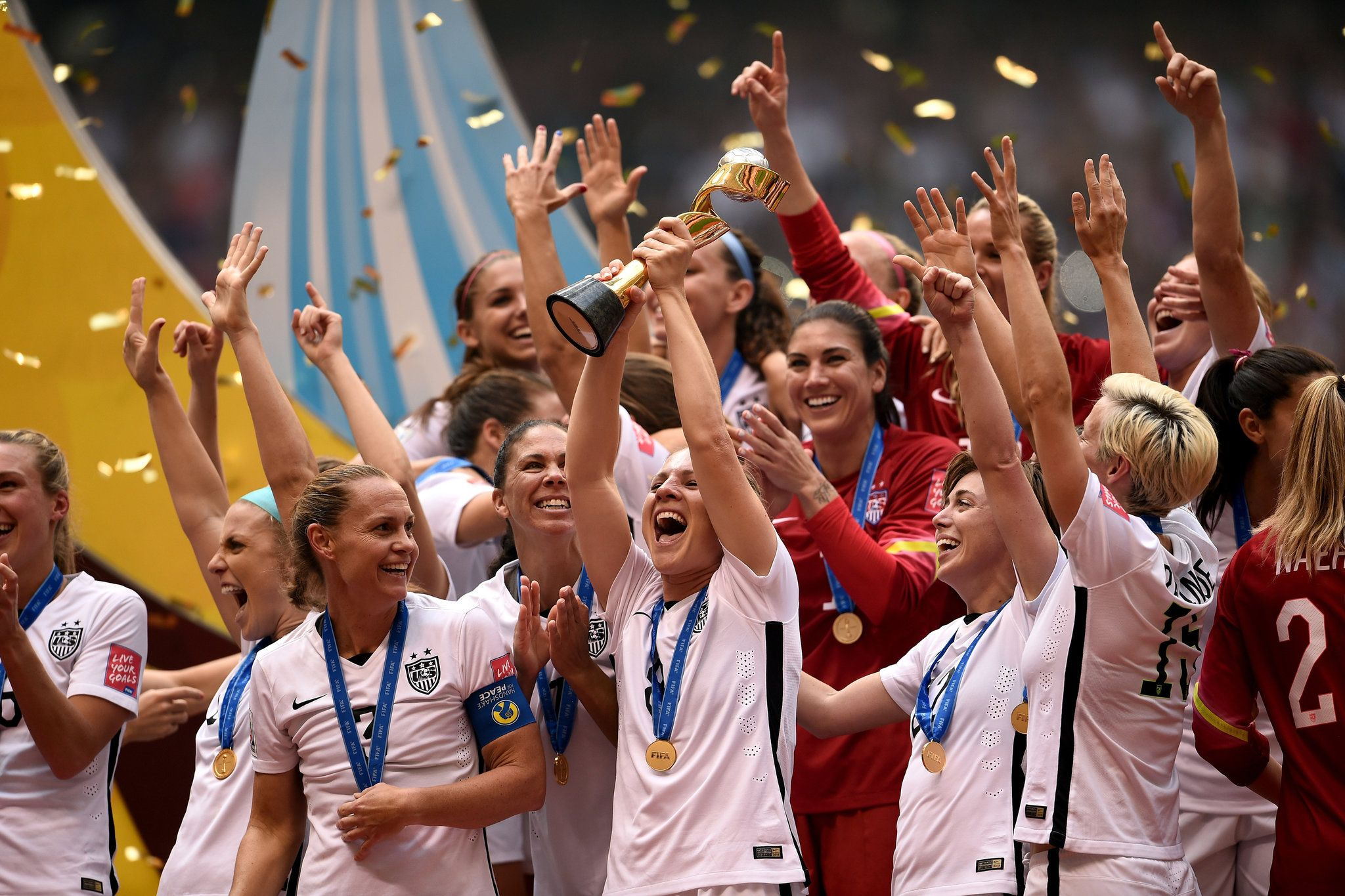 In A Rout And A Romp U S Takes World Cup World Cup Champions Fifa Women S World Cup World Cup