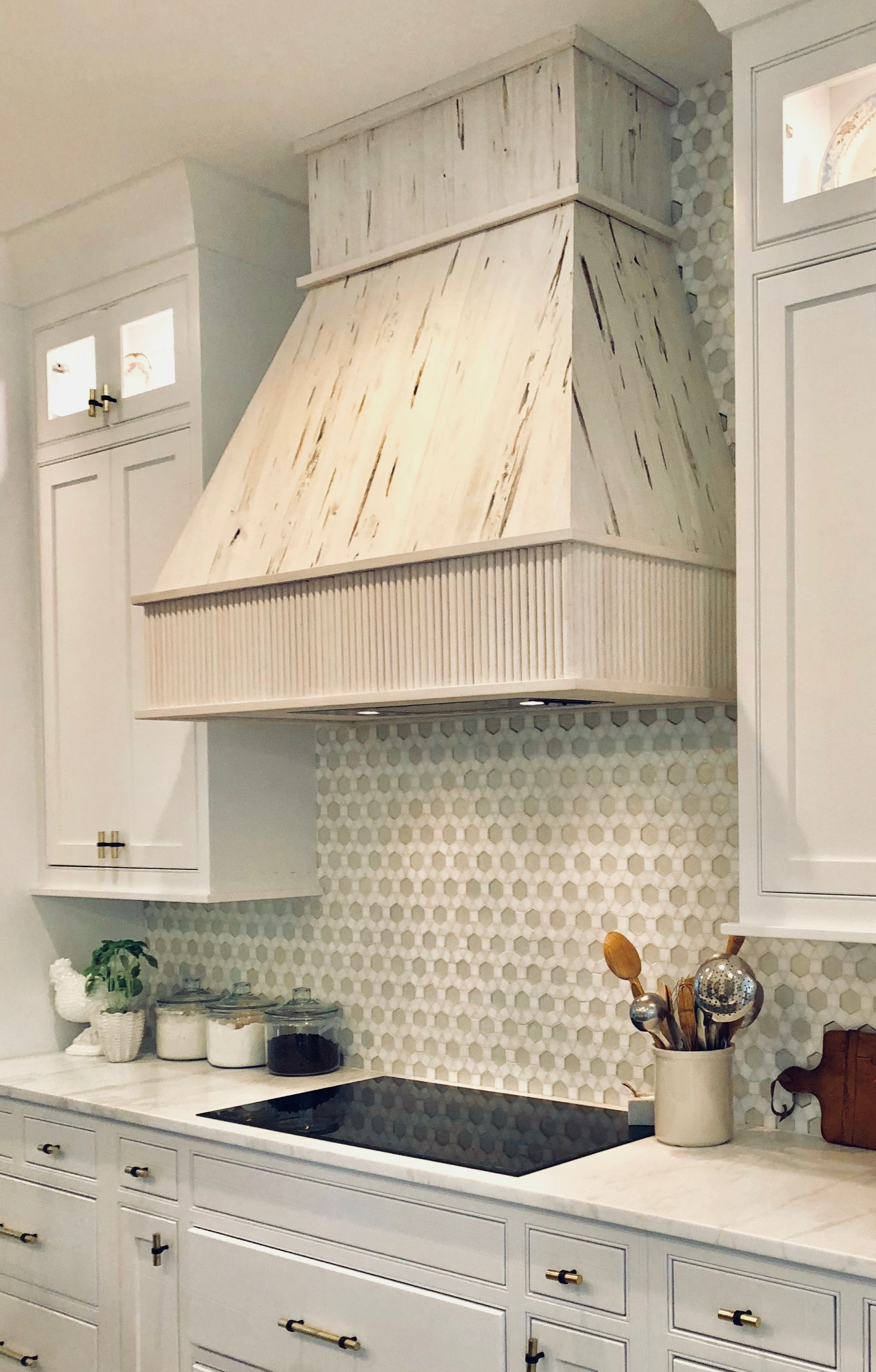 Cindy Mccarley Designs Custom Hood Made From Pecky Cypress Home Decor Home Kitchen Cabinets