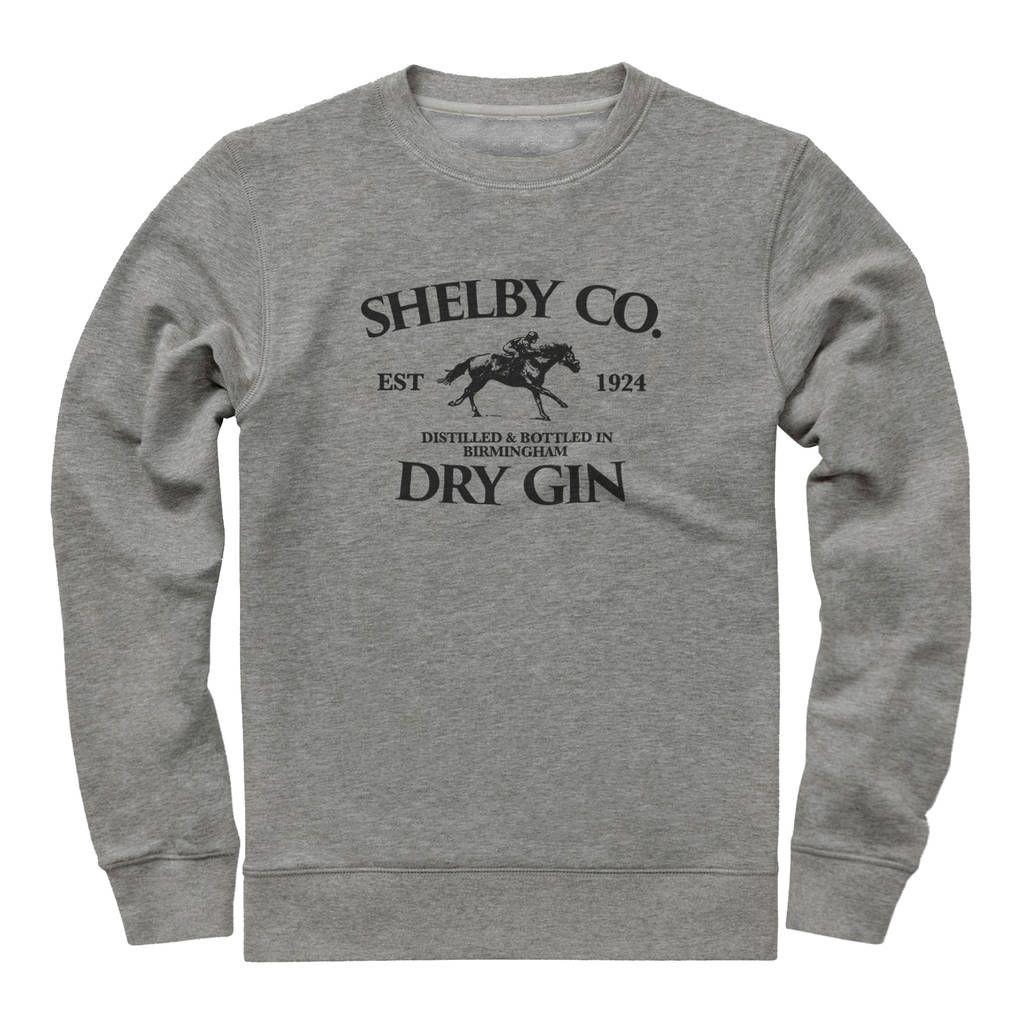 Shelby Company Dry Gin Sweatshirt By Jolly Sweatshirts Sweatshirt Inspiration Sweatshirt Designs