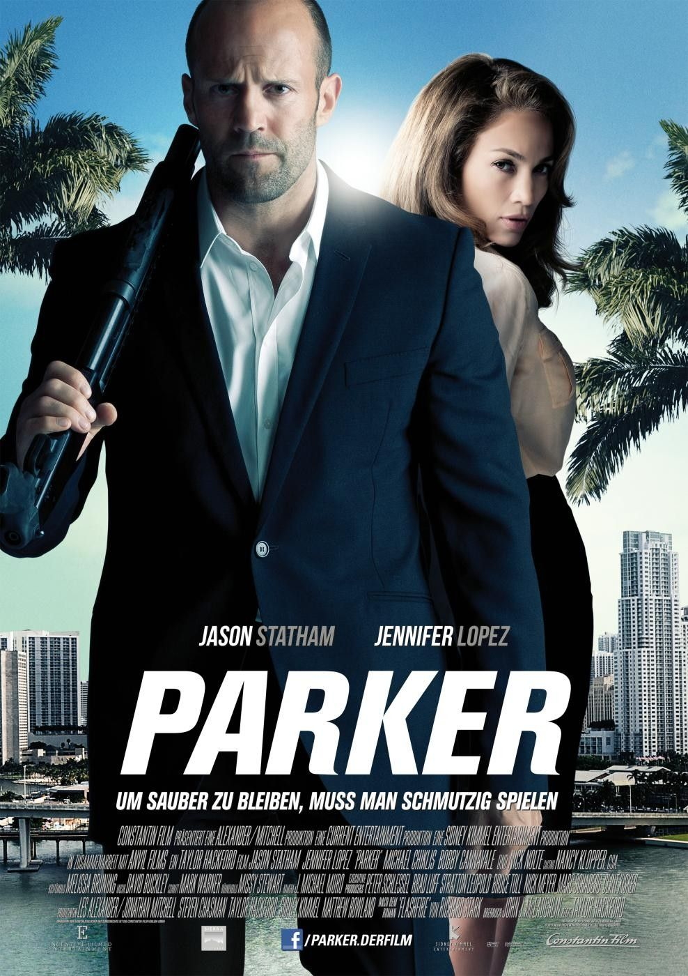 Parker Movie Poster 2 Arrives With Statham And Lopez -4350