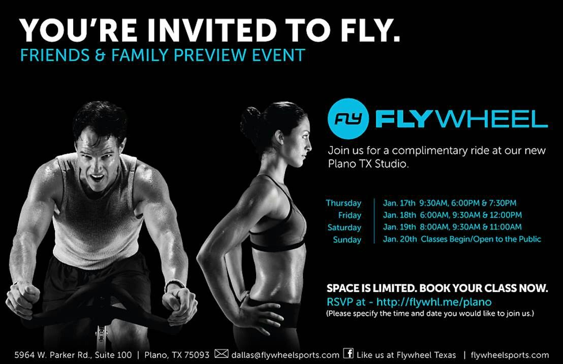 Flywheel To Open In Plano Texas Free Rides This Week Sign Up Now You Re Invited Plano Plano Tx