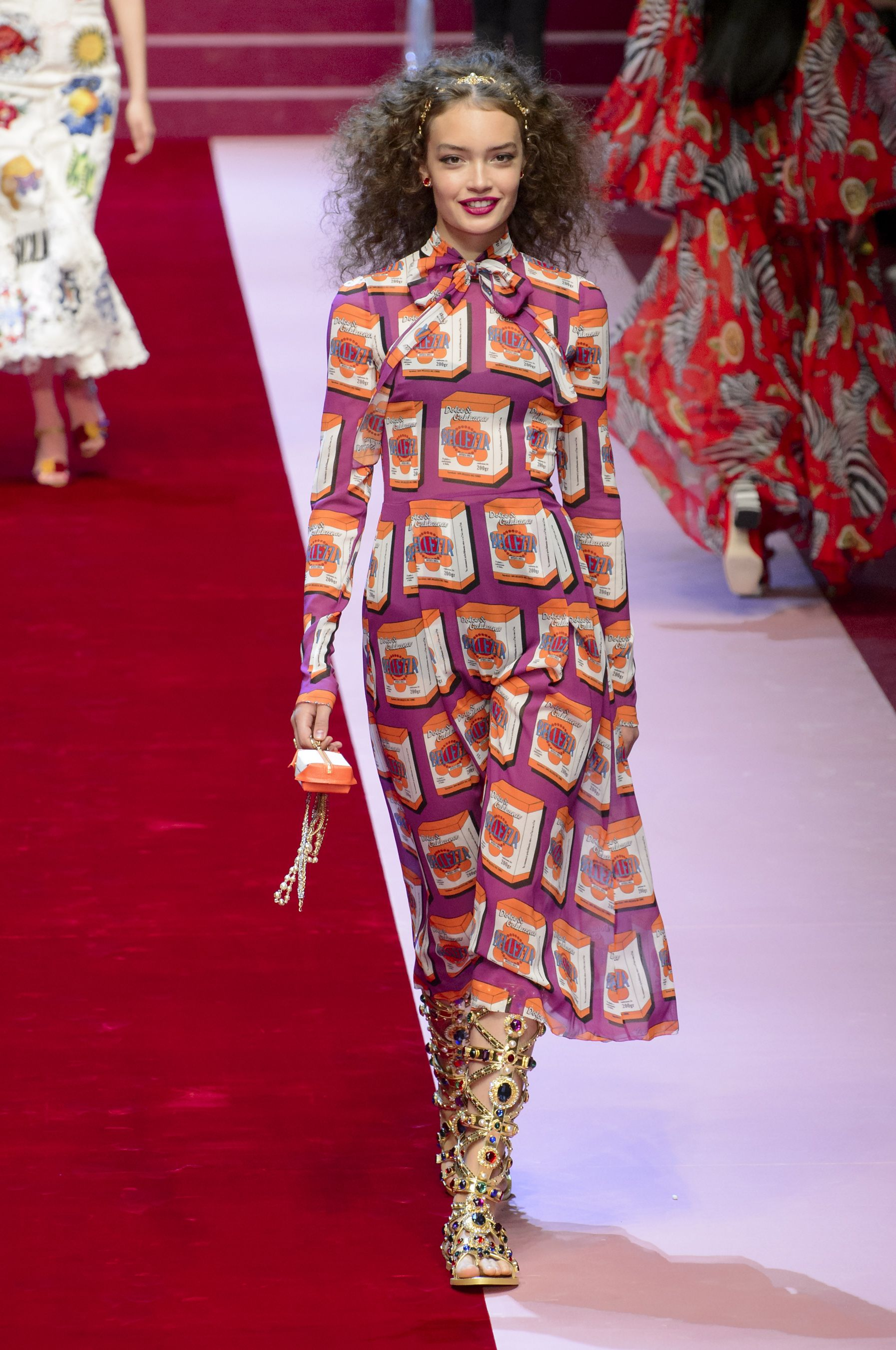 Milan ss dandg fashion week