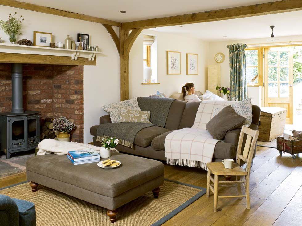 63 Wohnzimmer Landhausstil - Das Wohnzimmer gemütlich gestalten - wohnzimmer landhausstil einrichten