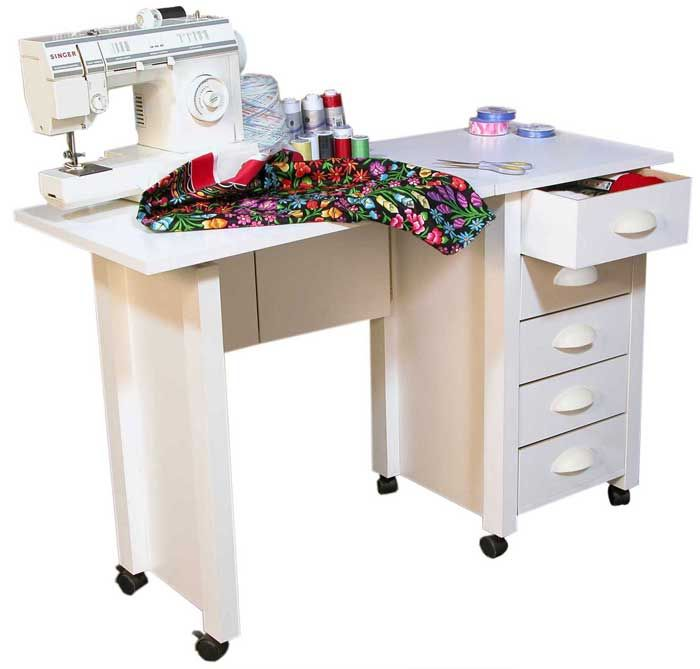 Sewing Table On Wheels Portable Sewing Tables Pinterest Desk Simple Portable Sewing Machine Table On Wheels