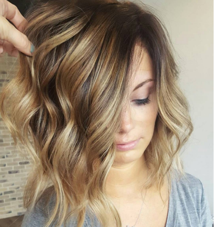 How To Soft Shadow Balayage Hair Coloring And Hair Style