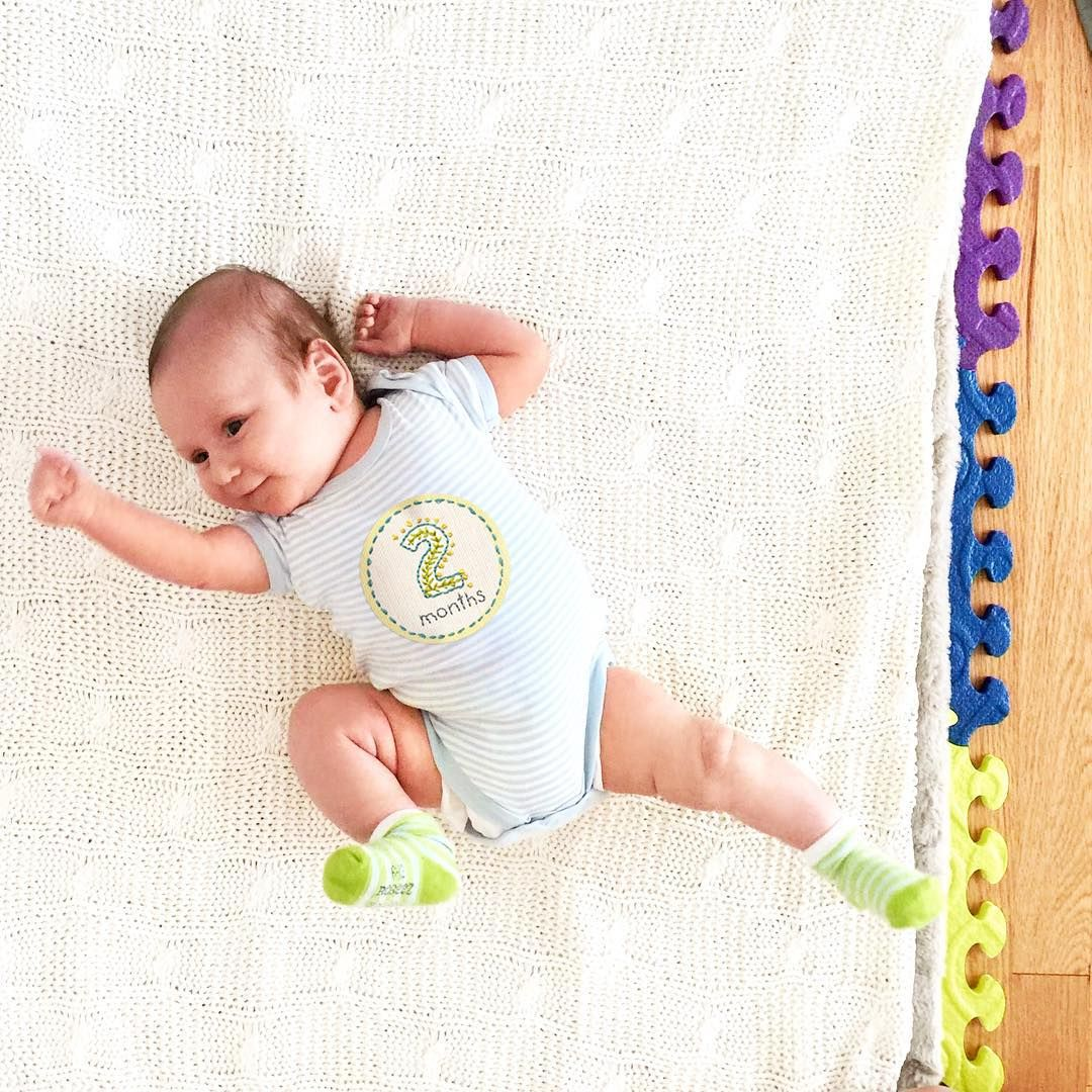 Here is proof that our tummy stickers make babies feel like dancin'