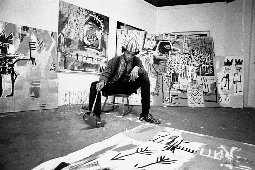 Pierre Houles Jean Michel Basquiat From A Unique Collection Of Photography At