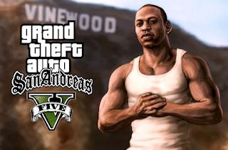 نقدم لكم اليوم لعبه Gta San Andreas V بشكلها الجديد حيث تم تعديل وتغيير لعبه Gta San Andreas لتصبح شبيهه بلعبه Gta Gr San Andreas Grand Theft Auto Artwork Gta