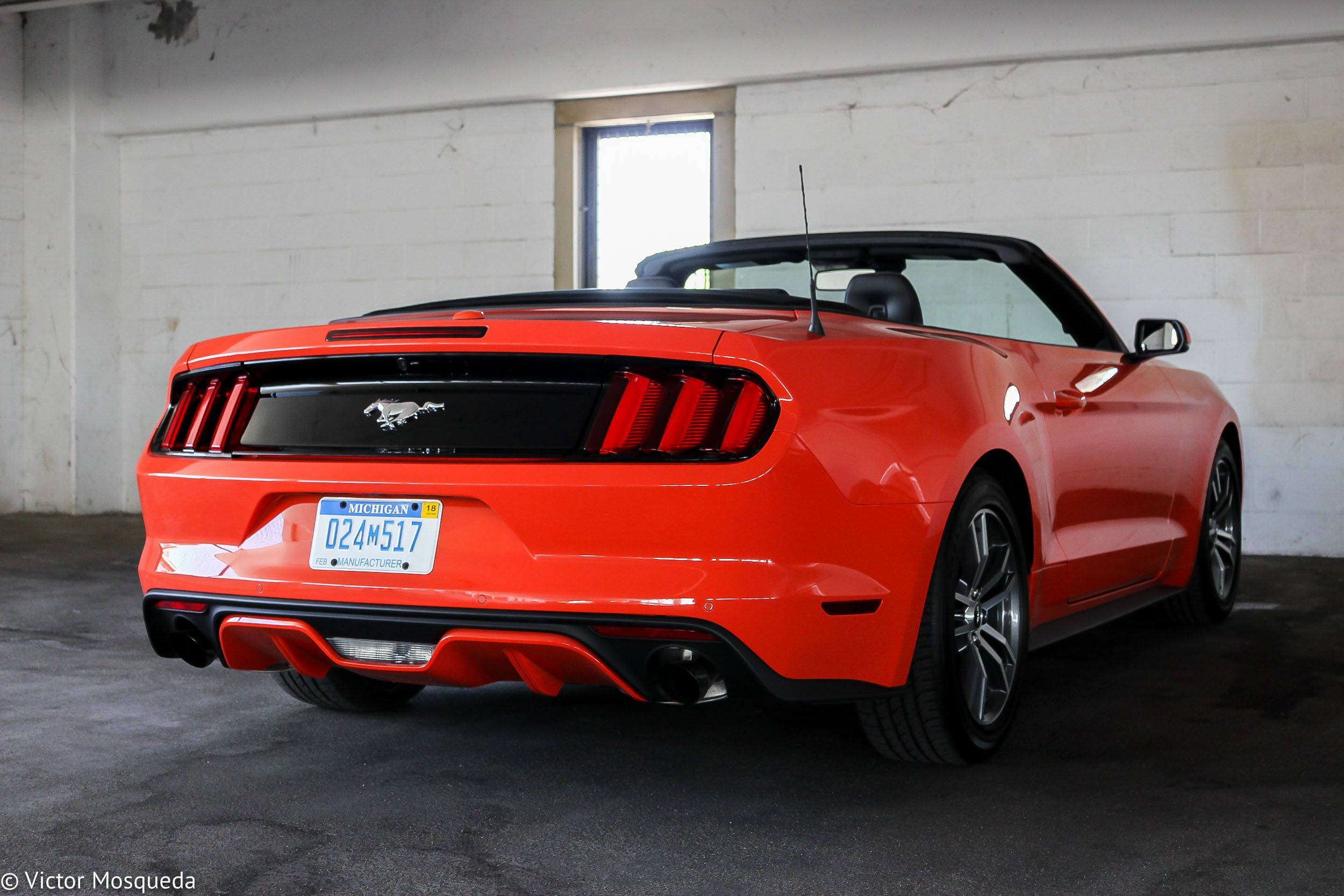 2015 Ford Mustang Convertible 2 3 Liter Ecoboost Cf Blog Ford