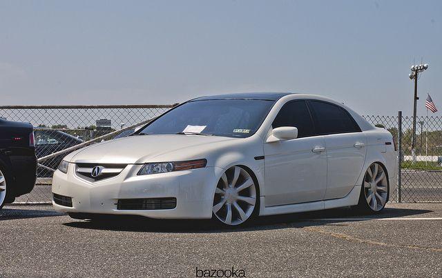 Bill Gatton Honda >> Stanced TL on Infiniti FX wheels   Stanced Cars   Acura tl ...