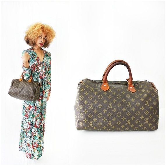 vintage 80s LOUIS VUITTON SPEEDY bag by PasseNouveauVintage, $70.00 #bags #fashion