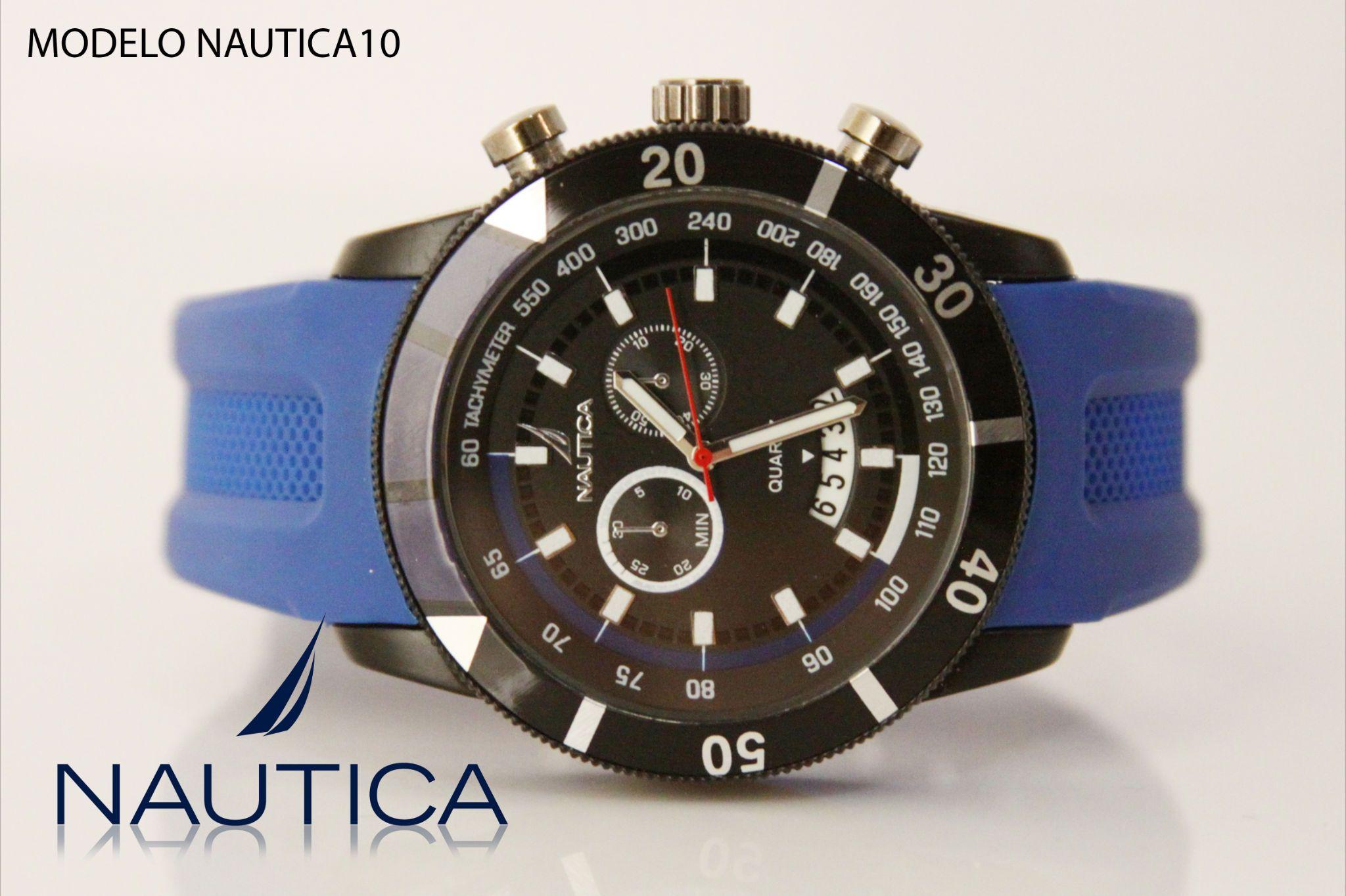 Reloj Nautica caballero azul rey